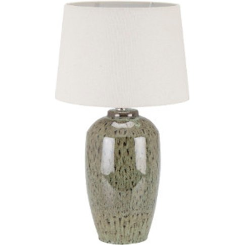 Caspian Hand Painted Ceramic Table Lamp