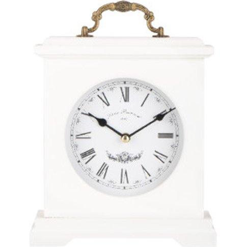 Reyenay Mantel Clock - White