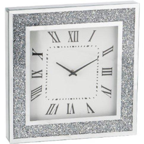 Crushed Crystal Clock
