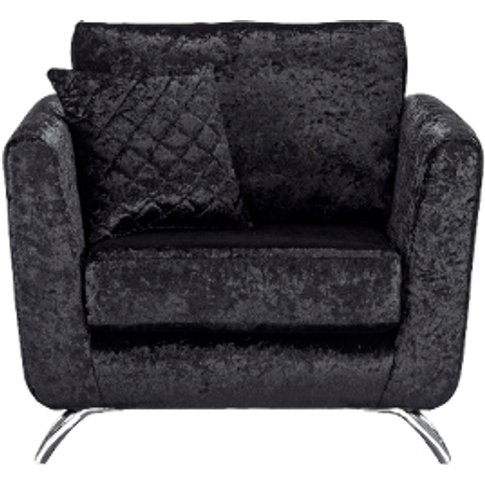 Tiffany Armchair  - Black / Black