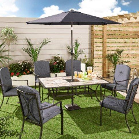 Rio Tile Top Garden Table