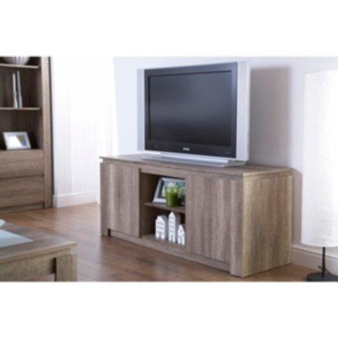 Canyon Tv Unit - Oak