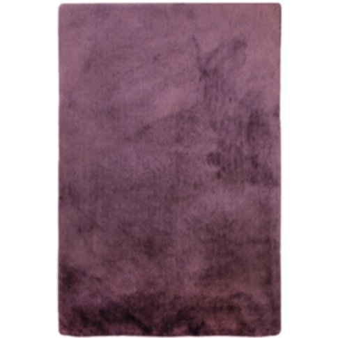 Whisper Shaggy Rug - Heather / 135cm
