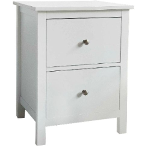 Otto Two Drawer Bedside Table