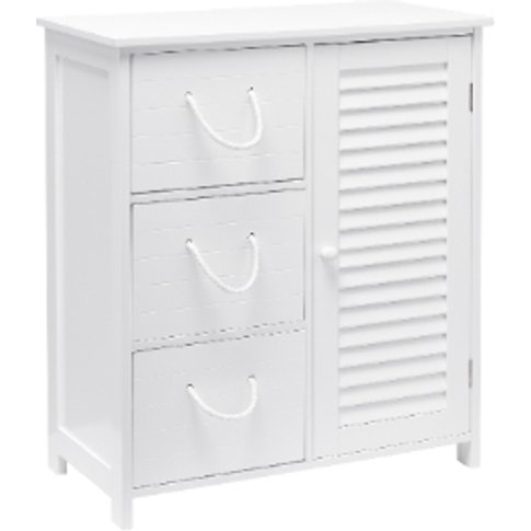 Kingston Cabinet And Drawers - White