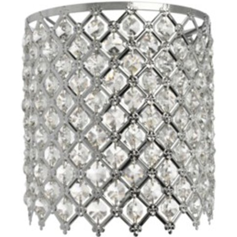 Crystal Cross Shade - Silver