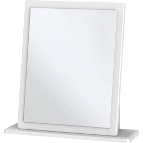 Kensington Kashmir Single Mirror  - White