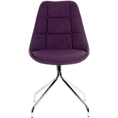Pair Of Breakout Office Chair - Plum