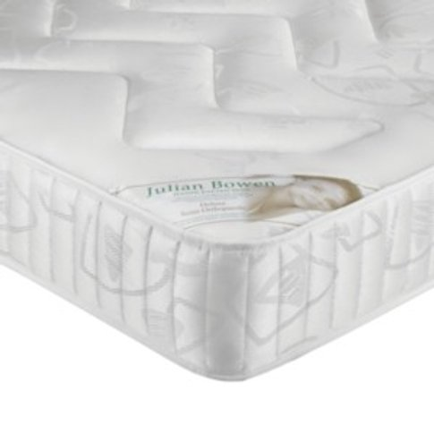 Deluxe Semi-Orthopaedic Mattress - White / Small Double
