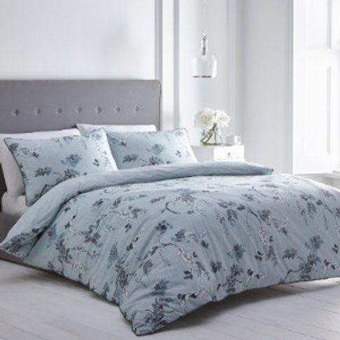Oriental Wisteria 200 Thread Count Duvet Cover and P...