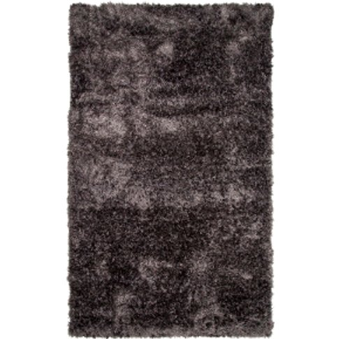 Shaggy Rug - Charcoal / 200cm