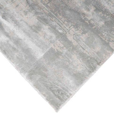 Castilla Modern Rug - Silver / 170cm