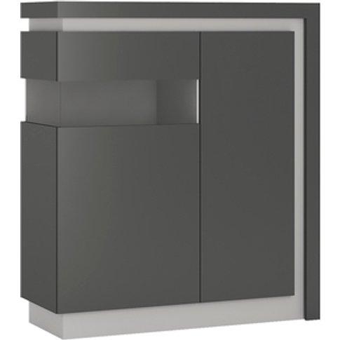 Jonas & James Lelia Two Door Designer Cabinet - Plat...