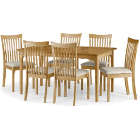 Ibsen Extending Dining Table And 6 Chair Set