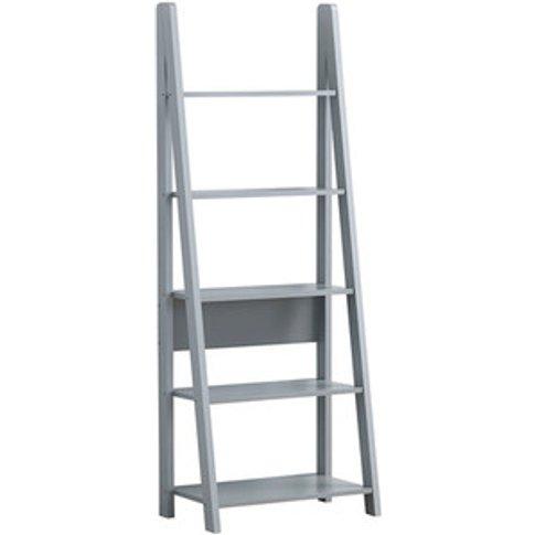 Riva Ladder Bookcase - Light Grey