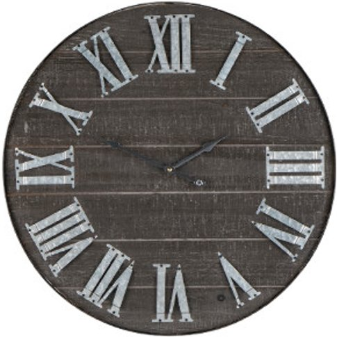 Wooden Numeral Clock