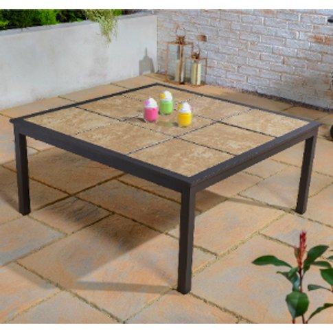 Nevada Tile Top Outdoor Table