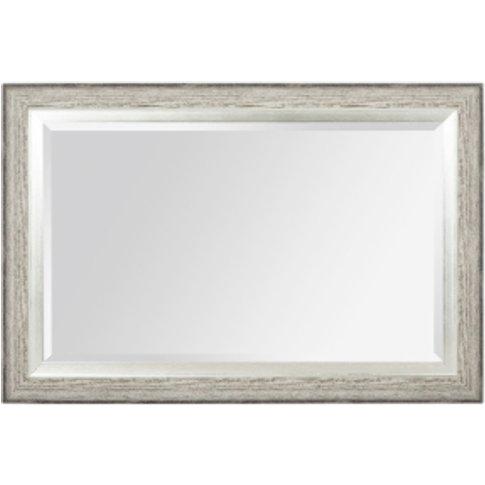 Modena Metallic Step Mirror - Grey
