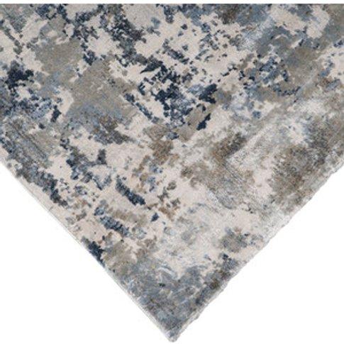 Castilla Abstract Rug - Silver / 200cm