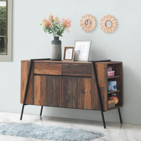 Abbey Sideboard With Two Doors And Two Drawers - Rus...