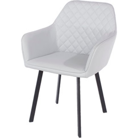 Set Of 2 Aspen Upholstered Armchairs With Metal Legs...