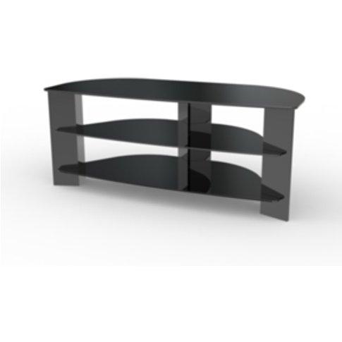 Varano Corner Tv Stand  - Black