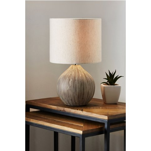 Next Scratch Small Table Lamp -  Cream