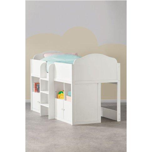 Next Amelia White Cabin Bed -  White