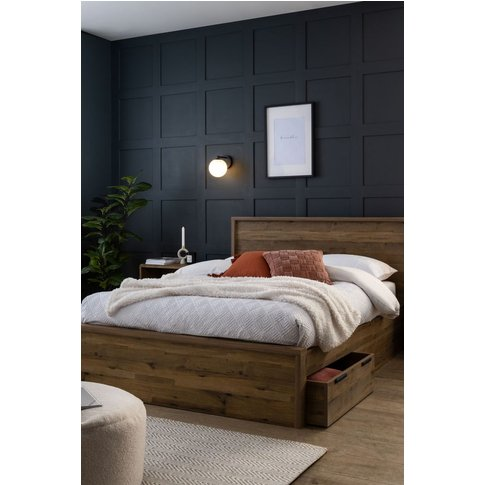 Next Bronx Bed -  Brown