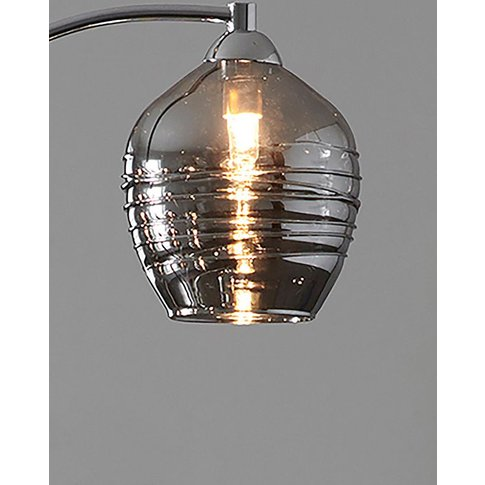 Next Drizzle Floor Lamp Spare Shade -  Grey