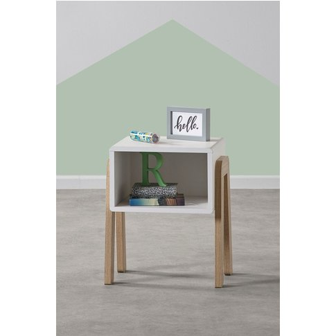 Next Compton Bedside Table -  White