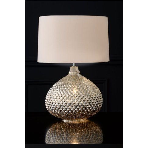 Next Glamour Large Table Lamp -  Chrome