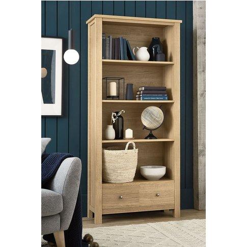 Next Malvern Bookcase -  Natural