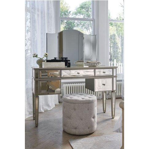 Next Fleur Dressing Table -  Silver