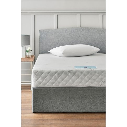 Next Rolled Memory Foam Firm Mattress -  White