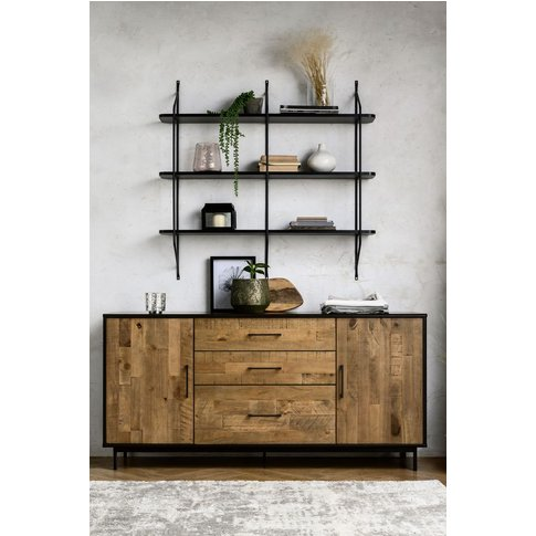 Next Jefferson Large Sideboard -  Natural