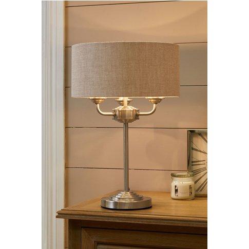 Next Burford 3 Light Table Lamp -  Chrome