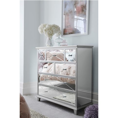 Next Florence Multi Chest Of Drawers -  Silver