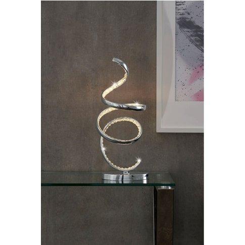 Next LED Cara Table Lamp -  Chrome