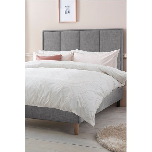 Next Milan Standard Bed -  Silver