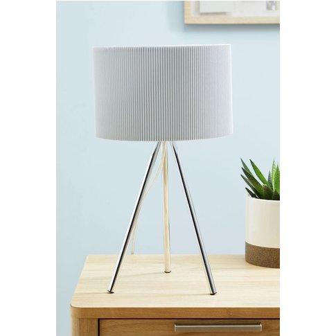 Next Mila Tripod Table Lamp -  Grey