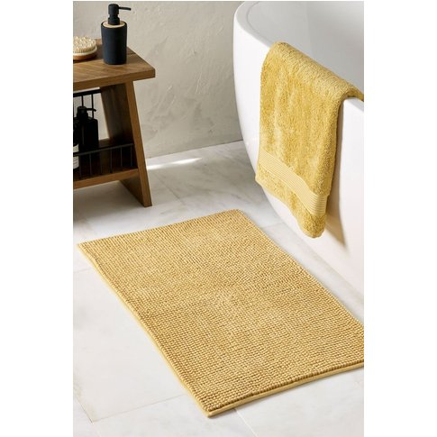 Next Bobble Bath Mat -  Yellow