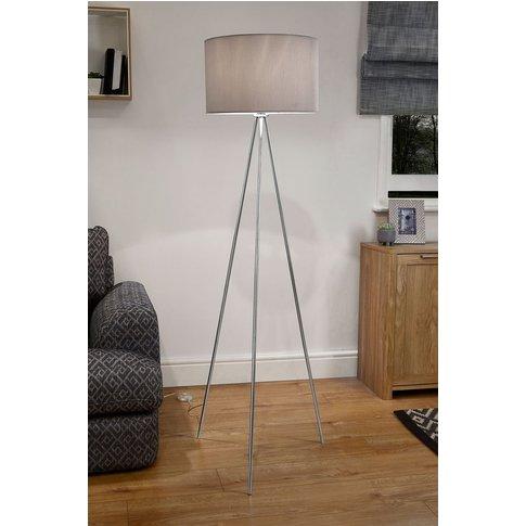 Next Mila Tripod Floor Lamp -  Chrome