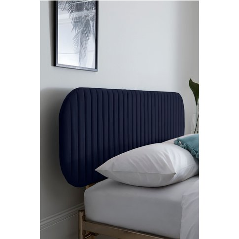 Next Quinn Headboard -  Blue