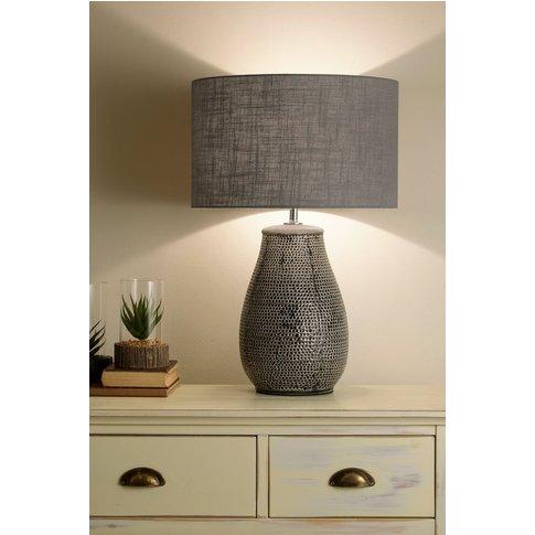 Village At Home Maxwell Table Lamp -  Grey