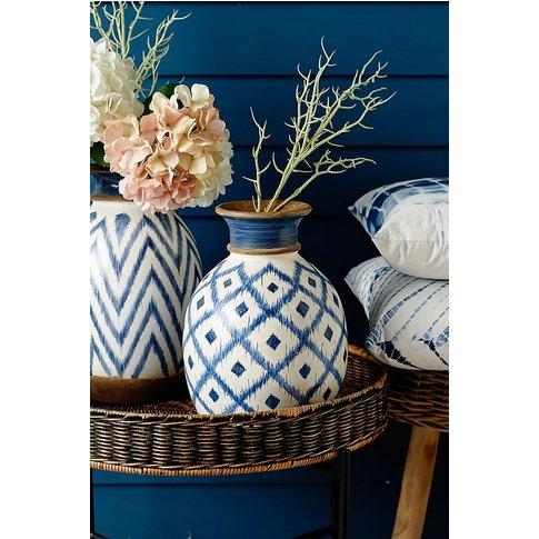 Parlane Mykinos Vase -  Blue