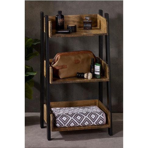 Next Bronx 3 Shelf Storage Unit -  Natural
