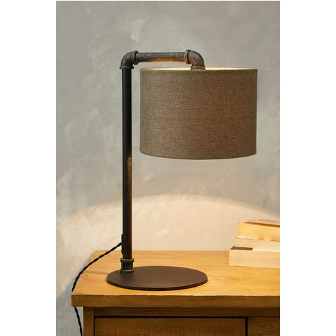 Next Pipe Table Lamp -  Pewter