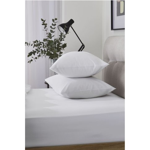 Next Cool Touch Tencel Blend Fitted Sheet -  White