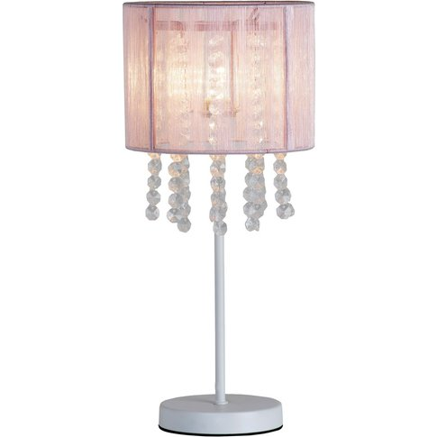 Next Pink Palazzo Table Lamp -  Pink